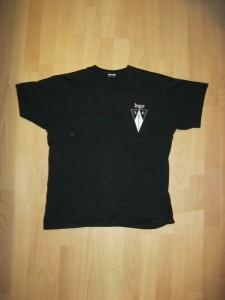 T-Shirt Schwarz Vorne